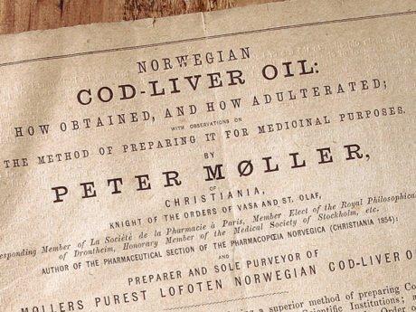 Møllers tran historie