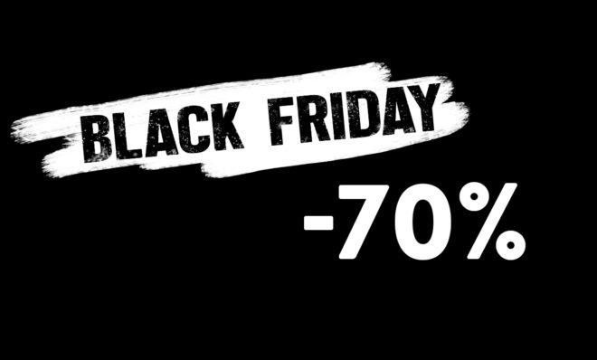 BLACK FRIDAY! Bestill i dag og få 70% rabatt!