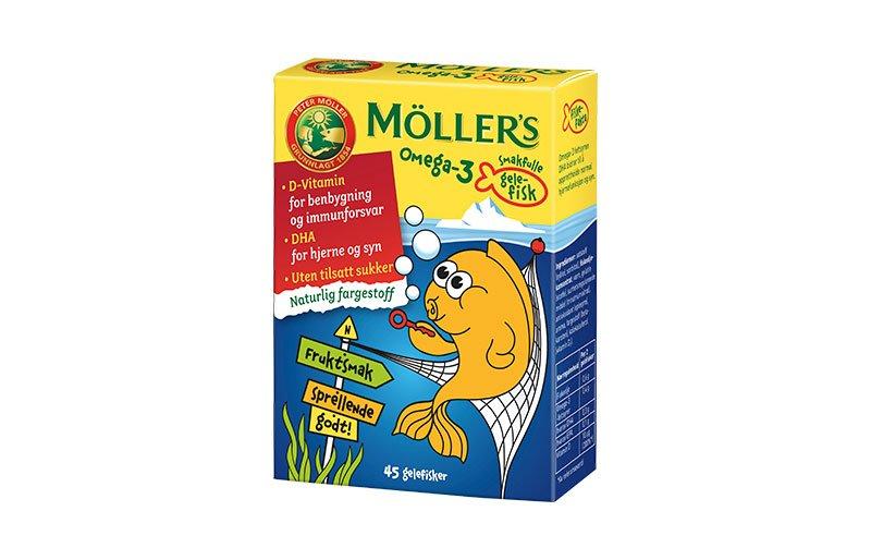 møllers omega 3 fisk