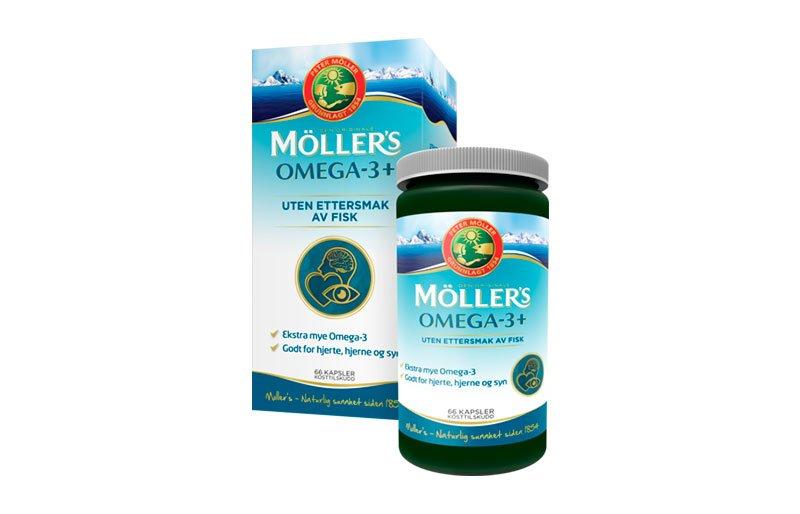 møllers omega 3 kapsler uten ettersmak av fisk