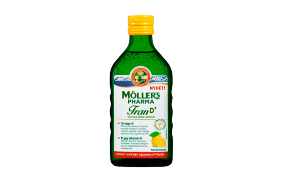mollers pharma tran d sitronsmak