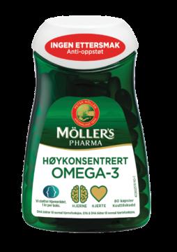 mollers pharma høykonsentrert omega-3
