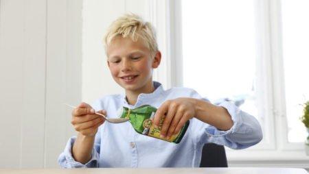 D vitamin og barn med tran