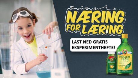 næring for læring eksperimentshefte