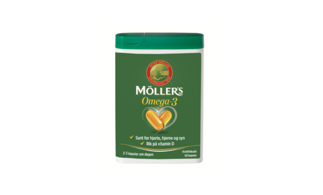Möller's Omega-3 kapsler