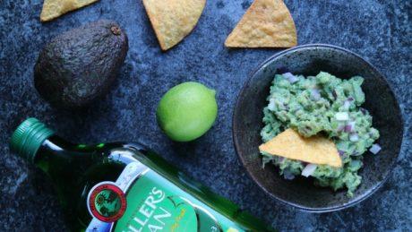 guacamole med sitrontran