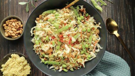 asiatisksalat med sitrontran