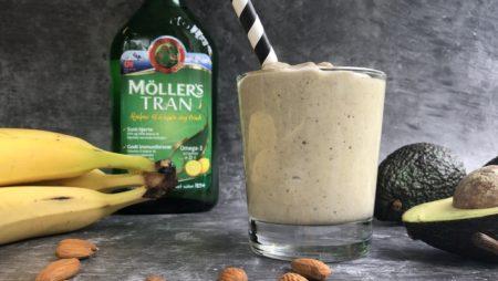 grønn smoothie oppskrift