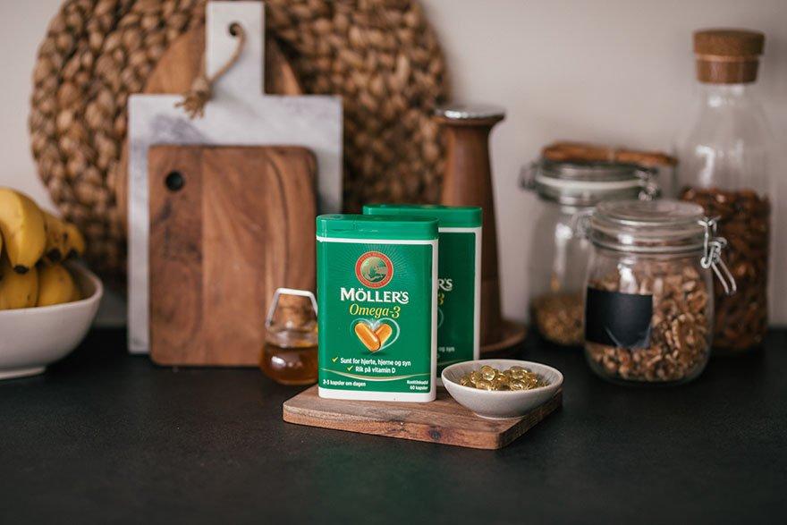 Bestill Möller's omega-3 kapsler direkte hjem