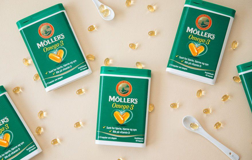 Möller's Omega-3 kapsler rett hjem