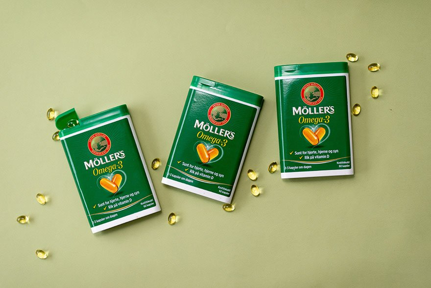 Bestill Möller's Omega-3 og Vitamin D hjem