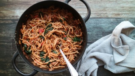 one pot bolognese oppskrift