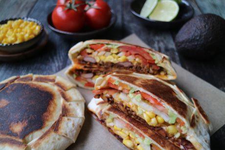tortilla burrito oppskrift