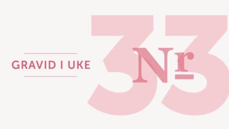 gravid uke 33