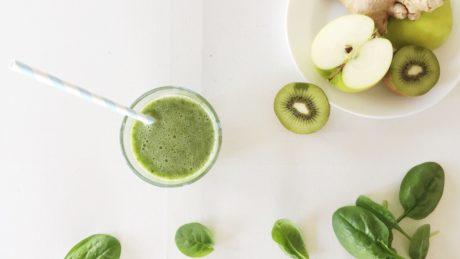 Grønn smoothie: Familiens favoritt