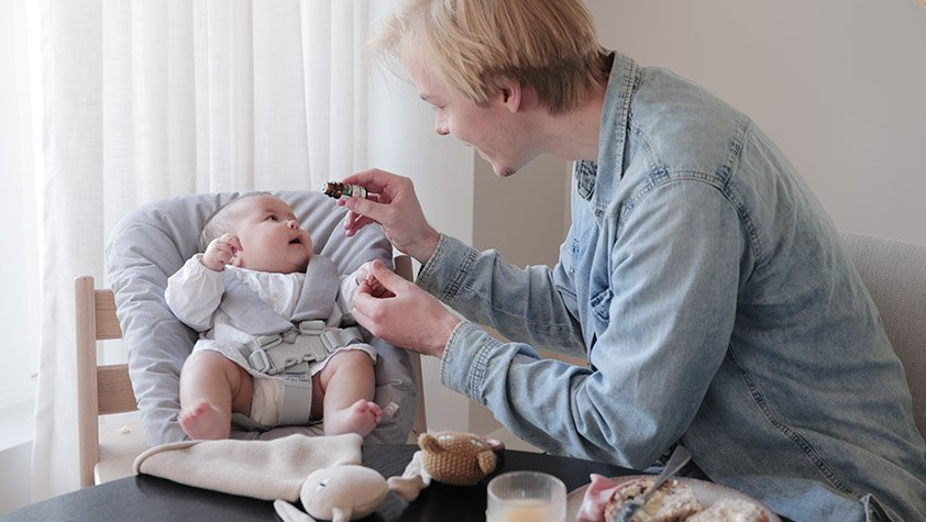 denne maten må du ikke gi barnet i spedbarnstiden