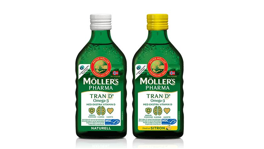 Möller's Pharma Tran D+