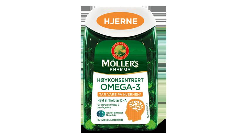 Möller's Pharma Hjerne