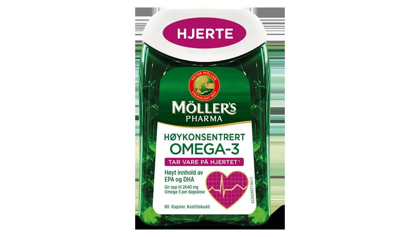Möller's Pharma Hjerte
