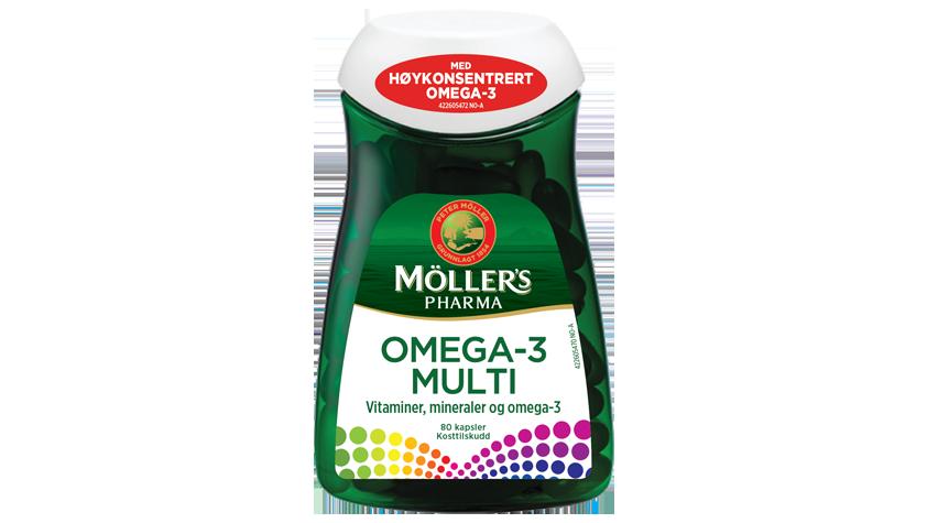 Möller's Pharma Omega-3 Multi